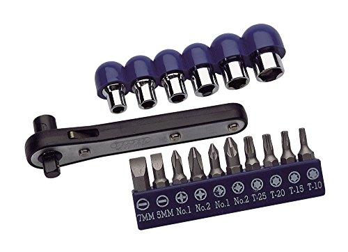 Draper 30781 Offset Ratchet Screw and Socket Driver Set