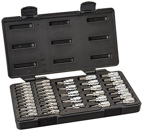 GearWrench 890040 39 Piece Bit Socket Set 14-Inch13mm 38-Inch20mm Drive