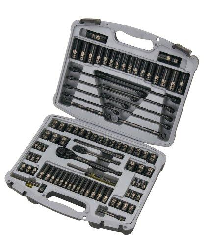 Stanley 92-839 Black Chrome and Laser Etched Socket Set 99-Piece
