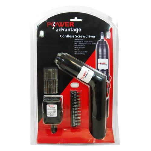 Power Advantage Rechargeable Cordless Screwdriver