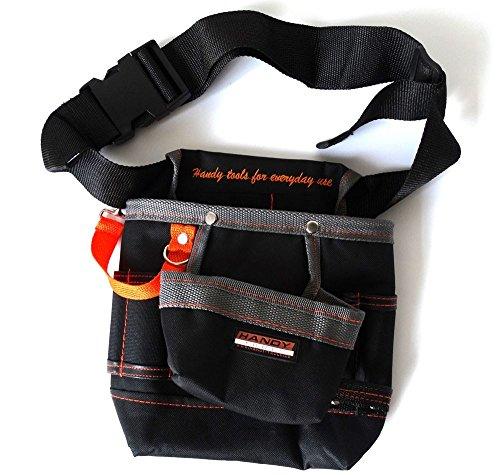 Muktat_ 8 Pockets Oxford Tool Pouch Electrician Tools Bag Electricista Tool Belt Waist Pocket Tool Belt Pouch Bagbolsa Herramienta HW243
