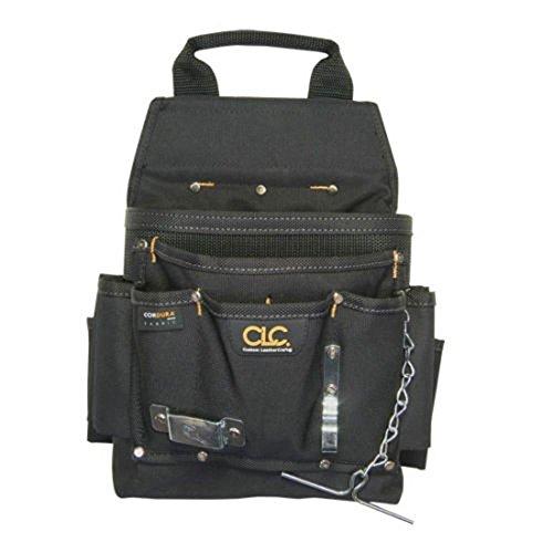 Bags Belts Pouches 11 Pocket Maintenance Electrician Tool Belt Pouch - CLC Custom Leathercraft 5505