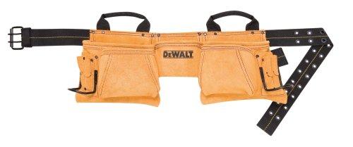 DEWALT DG5372 12-Pocket Carpenters Suede Apron