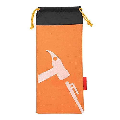 Boquite Nail PouchTent Hammer Bag Tent Camping Tent Peg Hammer Storage BagOrange