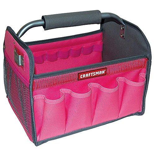 Craftsman 12 in Tool Totes - Pink by Craftsman