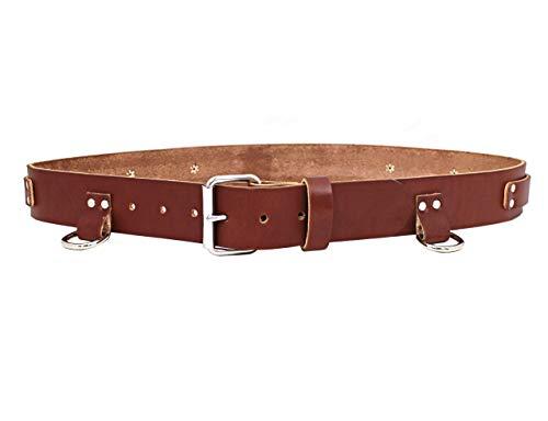Heavy Duty Top Grain Leather Utility Large Tool Belt 40 X 46