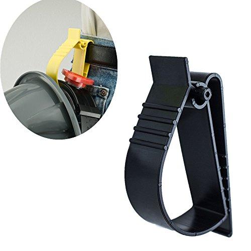 Utility Belt Clip Catcher Clip Attachment For Hard Hats Ear Muff Clip Ear Protection Clip Black