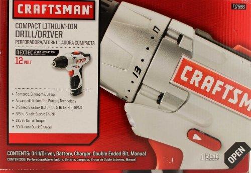 Craftsman Nextec 12-volt Compact Drilldriver