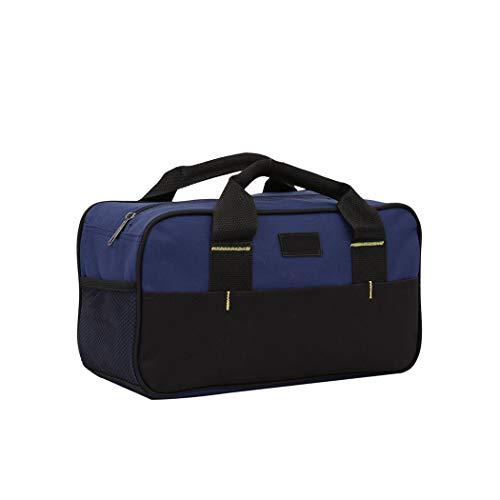 Oxford Cloth Tool Bag 12 Inch Tool Bag Smooth Zipper Thickened Bottom Waterproof Big Storage Bag