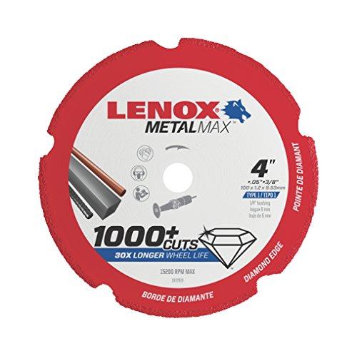 Lenox Tools 1972919 METALMAX Diamond Edge Cutoff Wheel 4 x 38