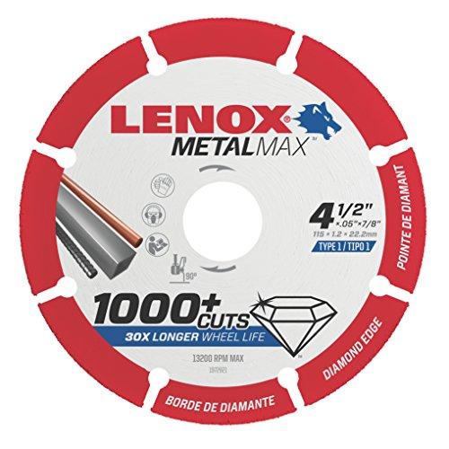 Lenox Tools 1972921 METALMAX Diamond Edge Cutoff Wheel 45 x 78
