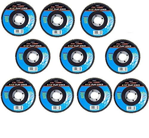 Cal-Hawk 20 Pack 4-12 Auto Body Sanding Flap Discs 120 Grit