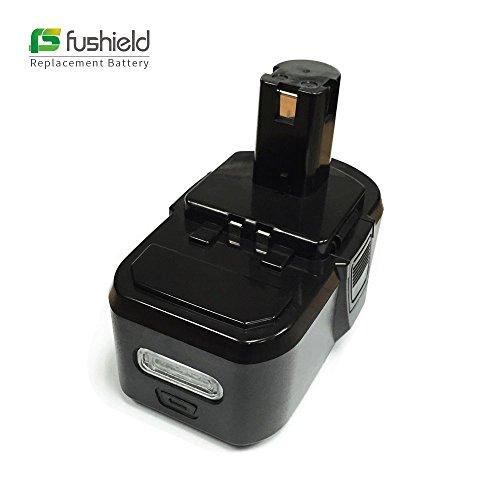 Fushield Ryobi P104 Battery 18V 4Ah Replacement Power Tool Lithium Ion Battery for Ryobi P102P103P104P107BPL1815BPL1820GBPL1815-1BPL1820