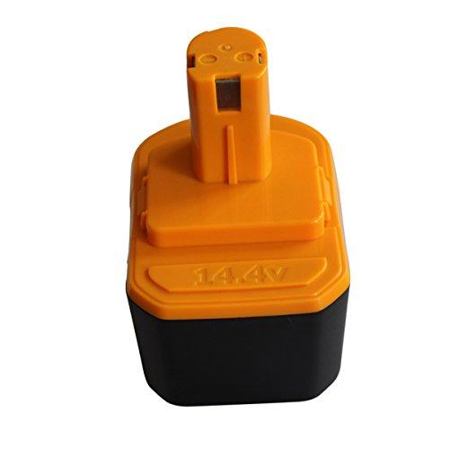 Topbatt 144V 15Ah NI-CD Replacement Battery for Ryobi Power Tools 130224010 130224011 130281002 1314702 1400144 1400655 1400656 1400671