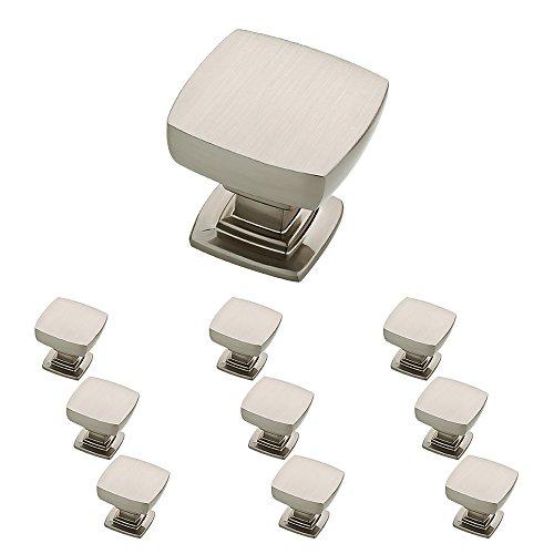 Franklin Brass P29542K-SN-B Parow Kitchen Cabinet Hardware Knob 10 Pack Satin Nickel