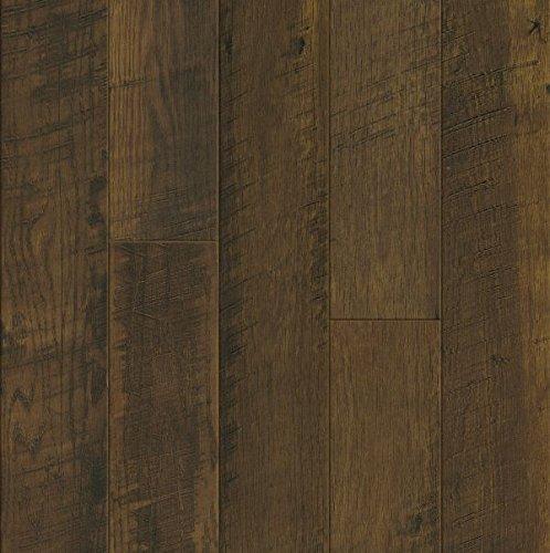 Bruce Hardwoods L3105 Armstrong Architectural Remnants Saw Mark OakSawmill Oak Laminate Flooring SaddleMocha