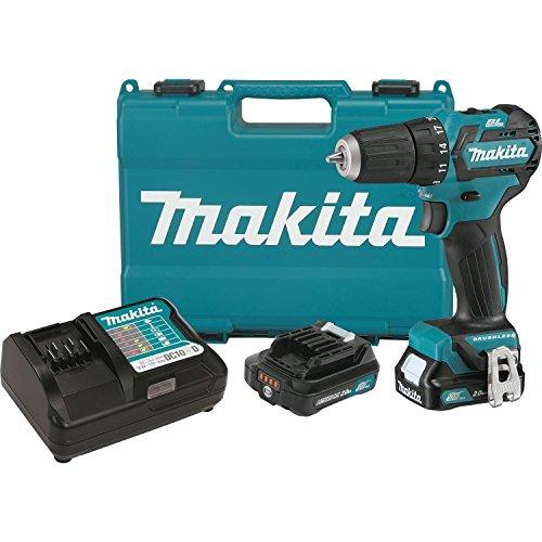 Makita FD07R1 12V MAX CXT Lithium-Ion Brushless Cordless Driver-Drill Kit 38
