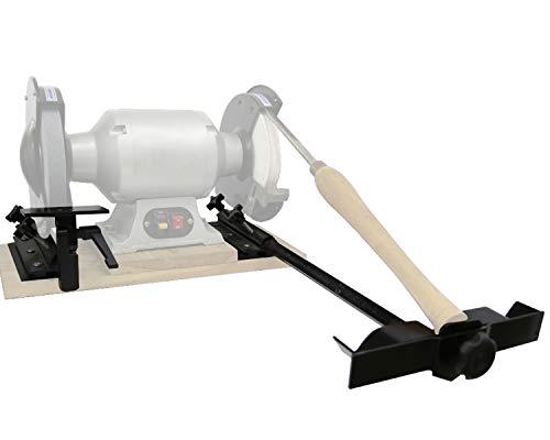 Oskool Bench Grinder Turning Chisel Sharpening Jig Kit