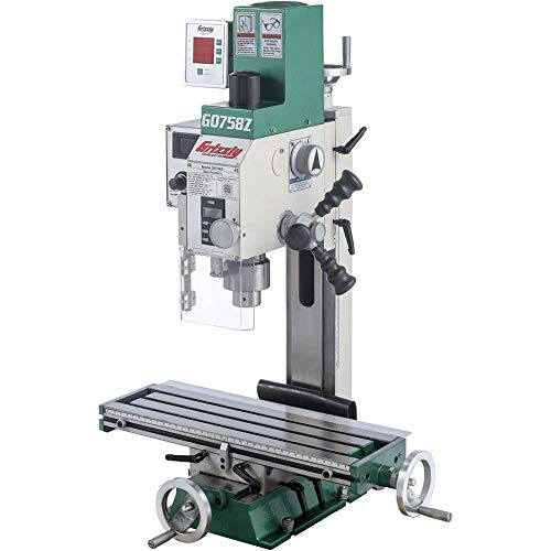 Grizzly Industrial G0758Z - 6 x 20 34 HP MillDrill with DRO