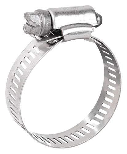 Ideal 916 Wide Interlocked Worm Gear Hose Clamp PK10 6864-1 Each