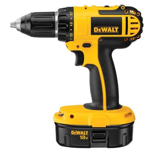 DEWALT DC720KA Cordless 18-Volt Compact DrillDriver
