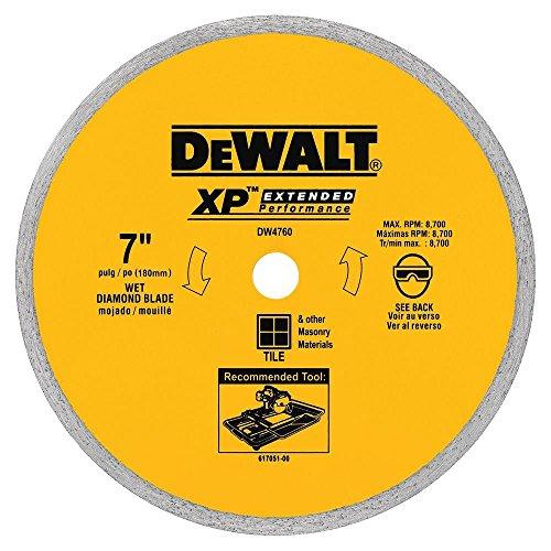 DEWALT - 7 in x 0060 in Wet Ceramic Tile Blade -