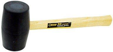 General Tech Intl 2260099 Steelgrip Rubber Mallet 32 Oz