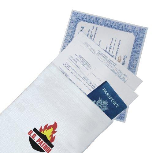 US Patrol JB5076 Fire Resistant Document Bag