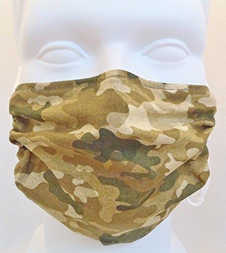 Breathe Healthy Masks Camo Style Face Filtering Mask for Sanding Drywall by Breathe Healthy Masks