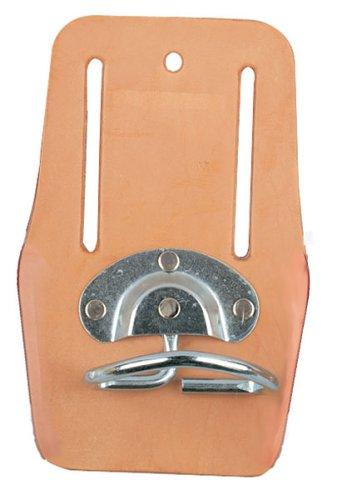 Bon 14-249 Swivel Steel Leather Hammer Loop with 3-Inch Belt Slot