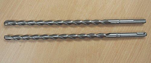 Lot of 2 SDS Plus 12 X 12 Rotary Masonry Drill Bit Carbide Tip