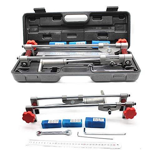 8Pcs Door Lock Mortiser Jig Kit Mortice Door Fitting Jig Lock Mortiser DBB Key JIG1 With 3 Cutters 182225mm Ruler for Wooden door