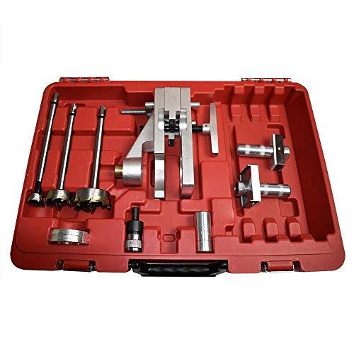 Big Horn 70125 Wood Door Lock Installation Kit with Strike Latch Mortiser Replace Templaco BJ-102-C3