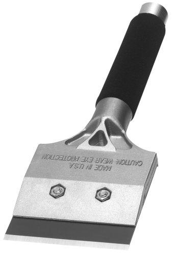 Warner 790 Tool 4-Inch Strip and Clean Scraper 12-Inch Steel Soft Grip Handle