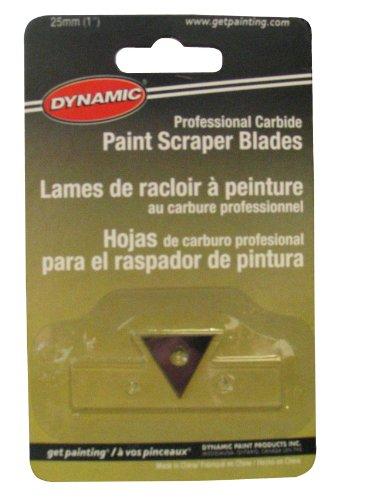 Dynamic FA040114 4-Edge Premium Paint Scraper Replacement Blades 2-Pack 2-12-Inch