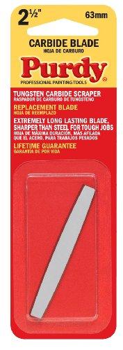 Purdy 144900235 Surface Prep Tool Premium Carbide Scraper Replacement Blades 2-12 inch