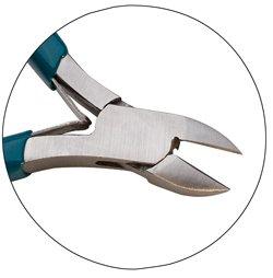 Teal Slimline Cutter Sidecutter Semi-flush 4-12 Inch