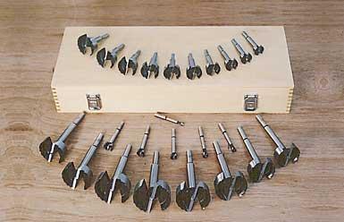 MLCS 9148 Boxed Master Forstner Bit Set 24-Piece