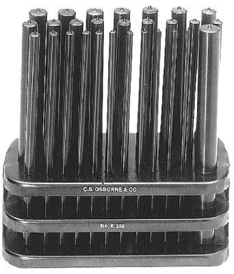 CSOsborne K-358MM Transfer Punch Set Steel
