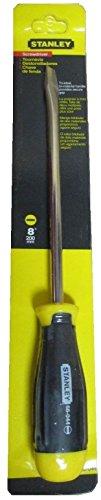 Stanley Cushion Grip Flat Head Screwdriver 8 200mm 66-044