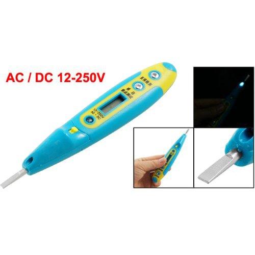 SODIALR 12V-250V ACDC Pocket Pen Sensor Voltage Detector Tester Screwdriver