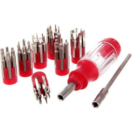 Hyper Tough 44-Piece Precision Screwdriver Set with Case