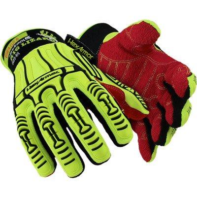 Hexarmor 2025 Gloves Rig Lizard Heavy Duty Level 4 X-Small 4 Pair