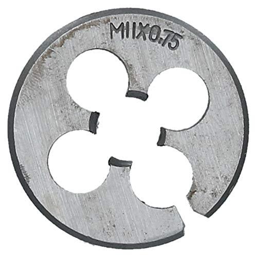 M11 x 075mm Metric Die Nut Tungsten Steel Thread Cutter 15 38mm TD052