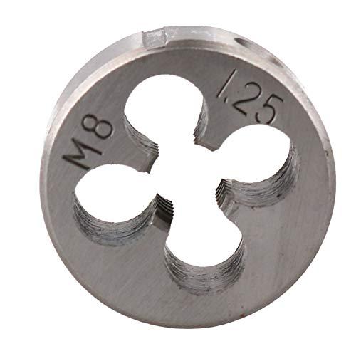 M8 x 125mm Metric Die Nut Tungsten Steel Thread Cutter 1 25mm TD060
