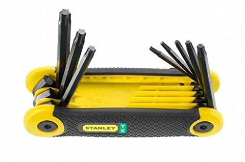 Stanley - Folding Hex Key Set 8 Piece Torx T9-T40