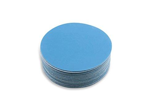 Red Label Abrasives 6 Inch 320 Grit Hook and Loop Metal SharpeningPolishing Film Sanding Discs 50 Pack