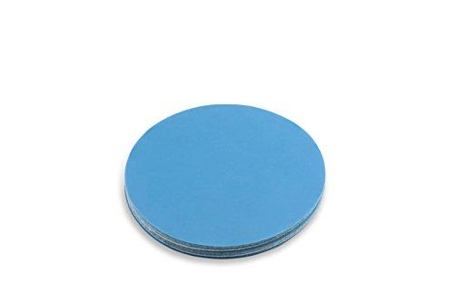 Red Label Abrasives 6 Inch 400 Grit Hook and Loop Metal SharpeningPolishing Film Sanding Discs 10 Pack