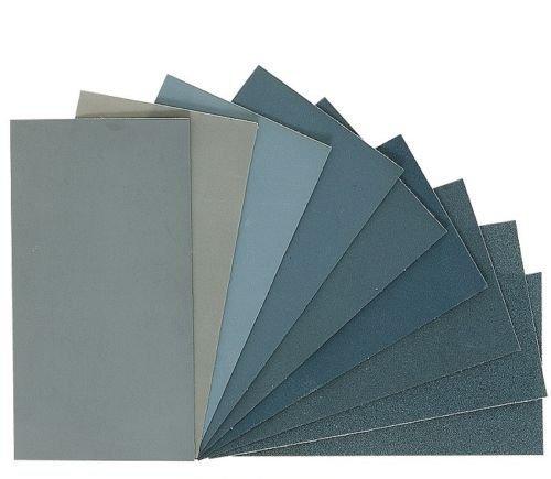 Micro-Mesh Cushioned Abrasive Cloth Polishing Kit 6x3-Inch 9 Sheets by Micro-Mesh