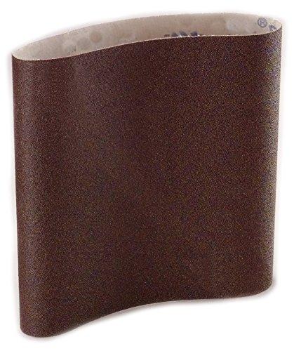 Sungold Abrasives 67778 Aluminum Oxide 220 Grit X-Weight Cloth Wide Sanding Belt Box of 2 37X75